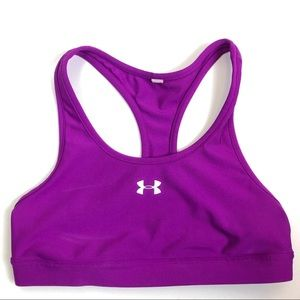 Under Armour #1233406 Purple Racer Back Sports Bra